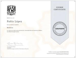 ¡Certificado obtenido! ¡Well Done!