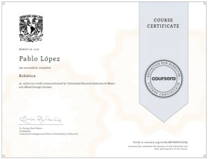 ¡Certificado obtenido! ¡Well Done!