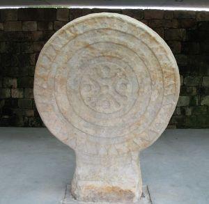 Estela de Barros encontrada en Cantabria.