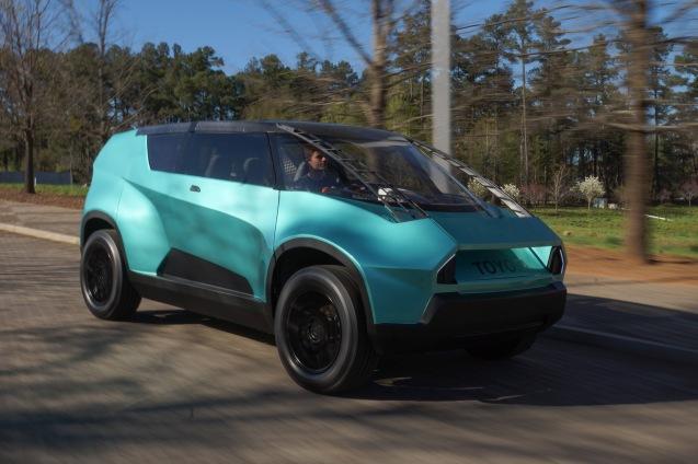 El curioso concept car de Toyota.