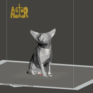 Mallado final elegido (estilo Low Poly).